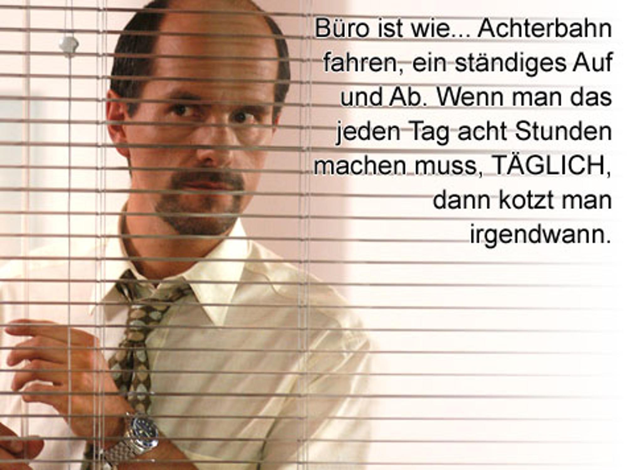 Stromberg Darsteller Christoph Maria Herbst Leidet Unter Der Rolle
