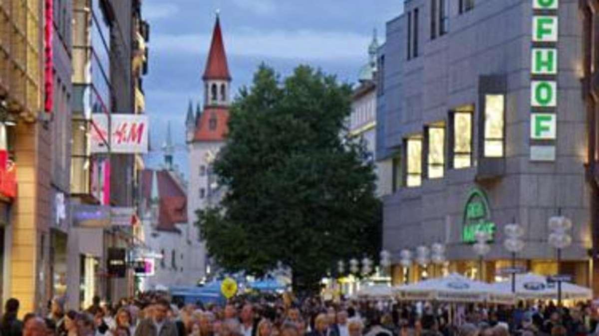 Lange Shopping Nacht München