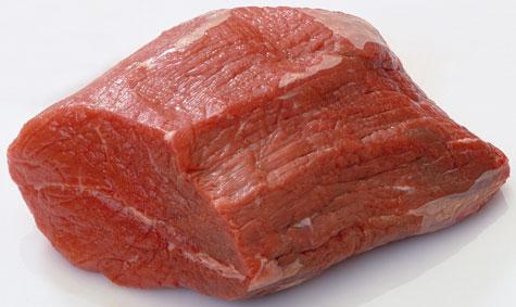 Hackfleisch hat graue stellen