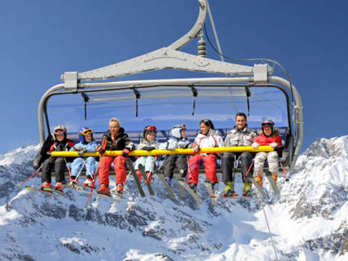 Safer Ski: Lift mit Kindersicherung