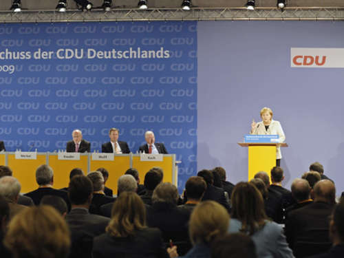 CDU stimmt Koalitionsvertrag zu