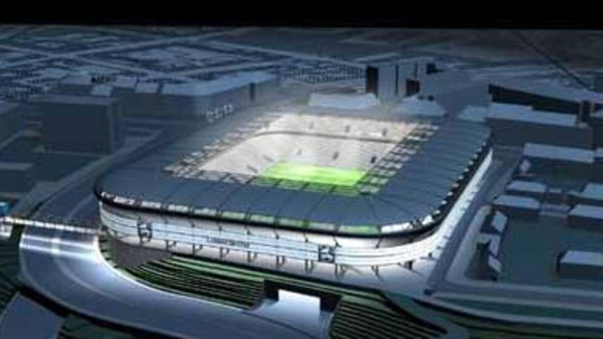 Grünwalder Stadion Plan