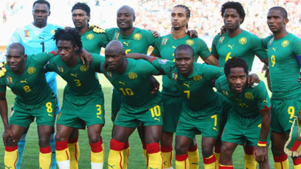Fußball Wm 2010 In Südafrika So Qualifizierte Sich Kamerun Fußball