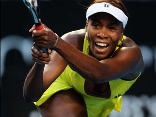 Venus Williams unten ohne in Down Under?