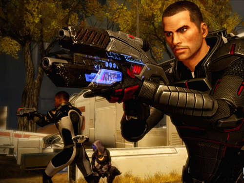 Screenshots aus Mass Effect 2