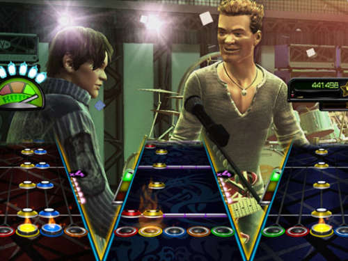 Screenshots aus Guitar Hero Van Halen