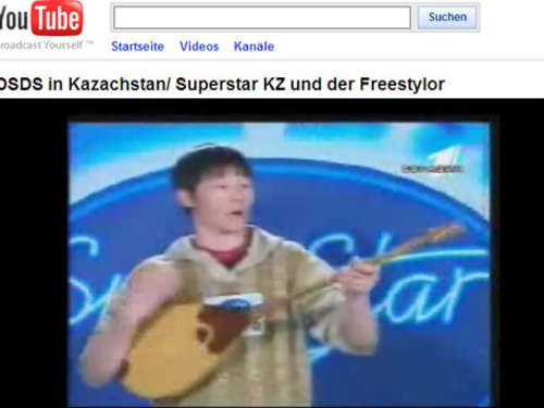 Video des Tages: DSDS in Kasachstan