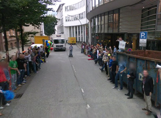 Google Street View Fiat Parkt Vor Vw Hauptsitz In Schweden Auto