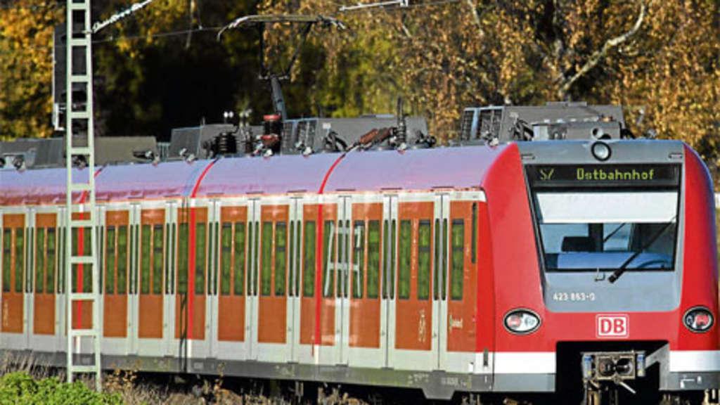 Der Fahrplan Für Die Express S Bahn Stadt