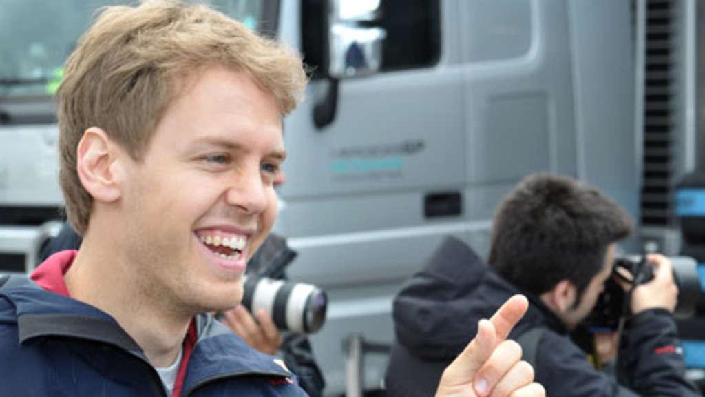 Sebastian Vettel Neue Frisur Neue Kampfansage Formel 1