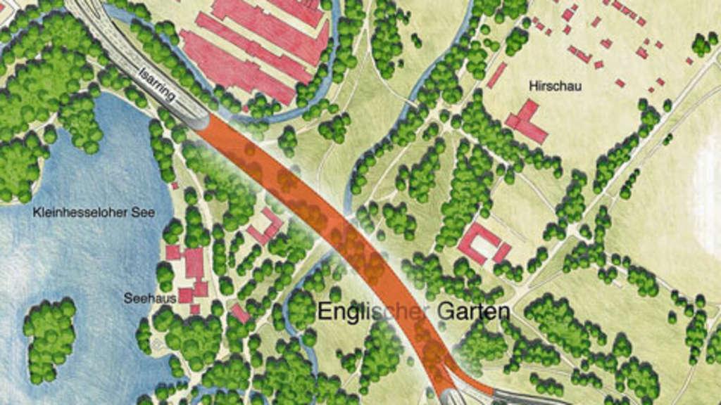 Tunnel Im Englischen Garten Soll Durch Olympia Etat Bezahlt Werden