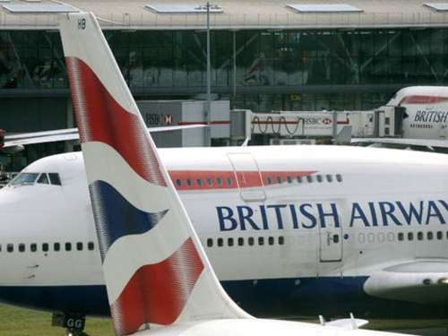Kabinenpersonals bei British Airways streikt