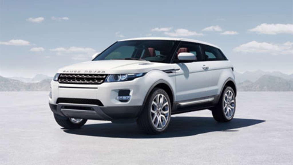 baby von land rover der neue range rover evoque auto. Black Bedroom Furniture Sets. Home Design Ideas
