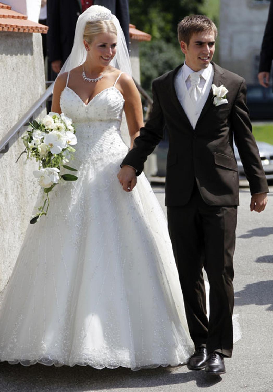 Philipp Lahm Und Claudia Schattenberg Bilder Von Der Hochzeit In