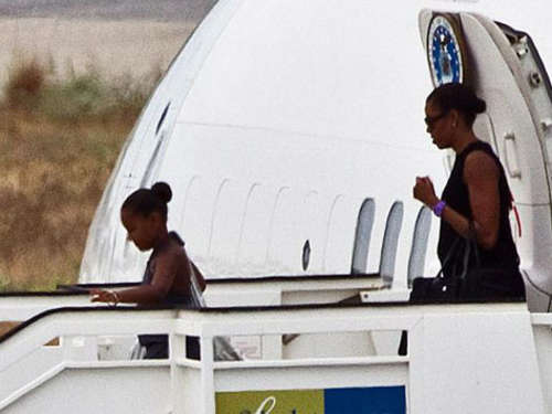 Michelle Obama urlaubt an Costa del Sol