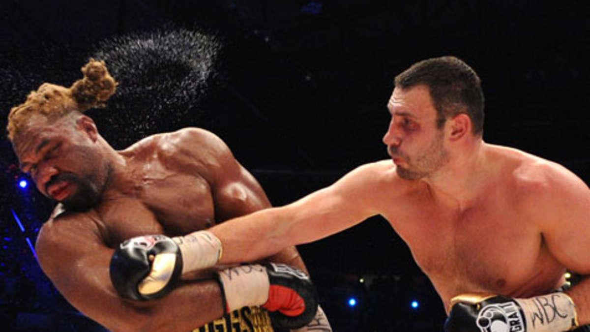 Boxkampf Am Samstag