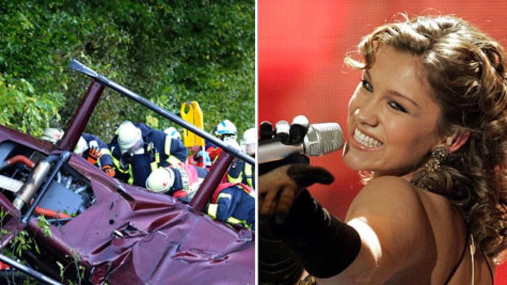 Dsds Sängerin Anna Maria Zimmermann Nach Hubschrauber Absturz Wach