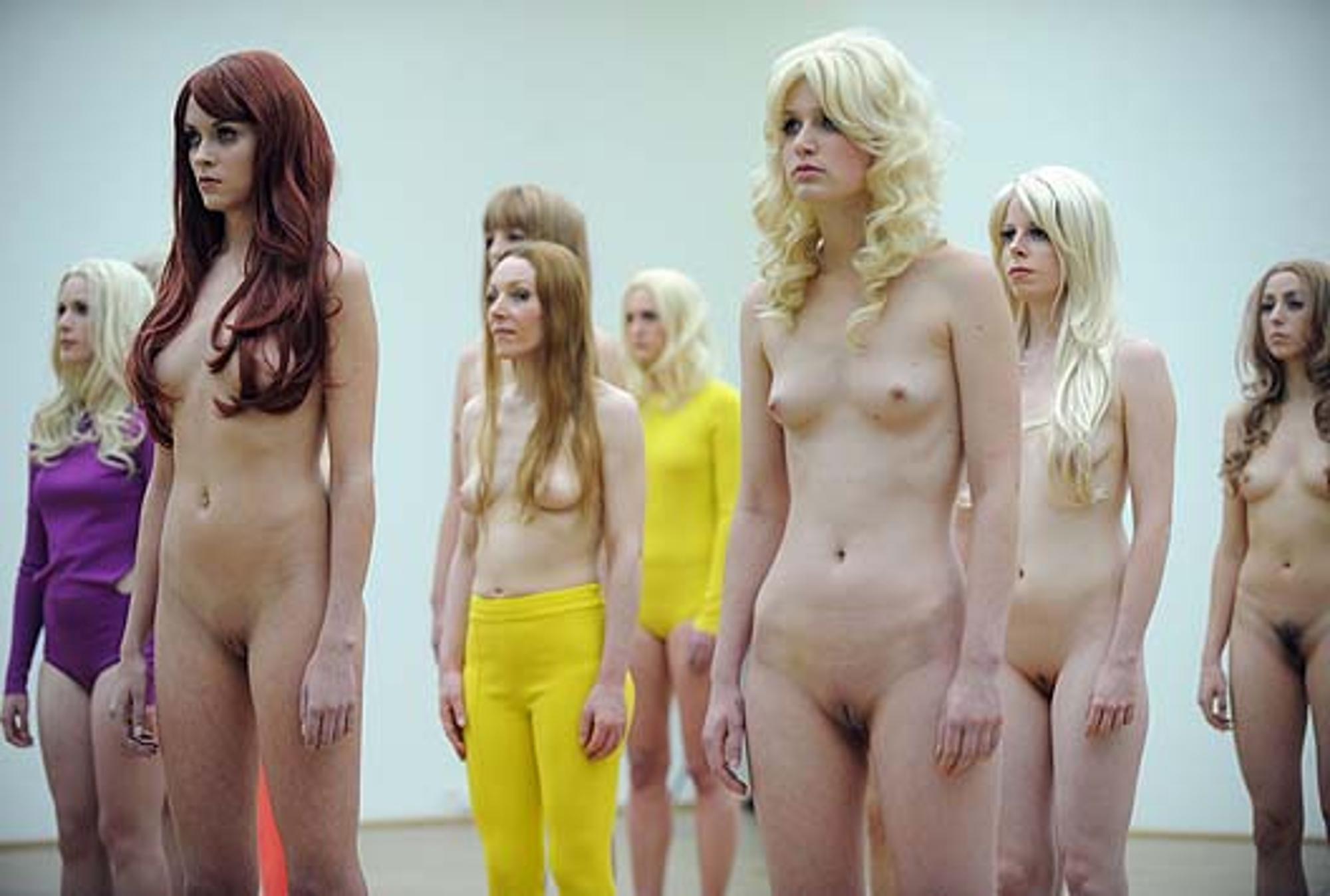 geile nackte models