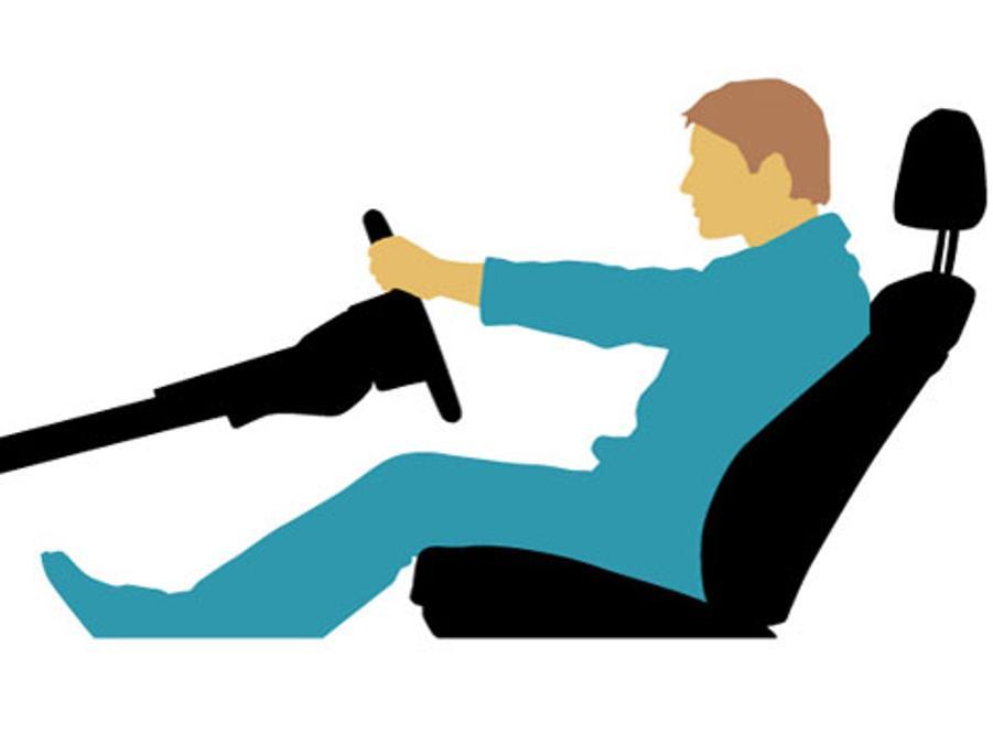 richtig sitzen im auto senkt verletzungsrisiko auto. Black Bedroom Furniture Sets. Home Design Ideas