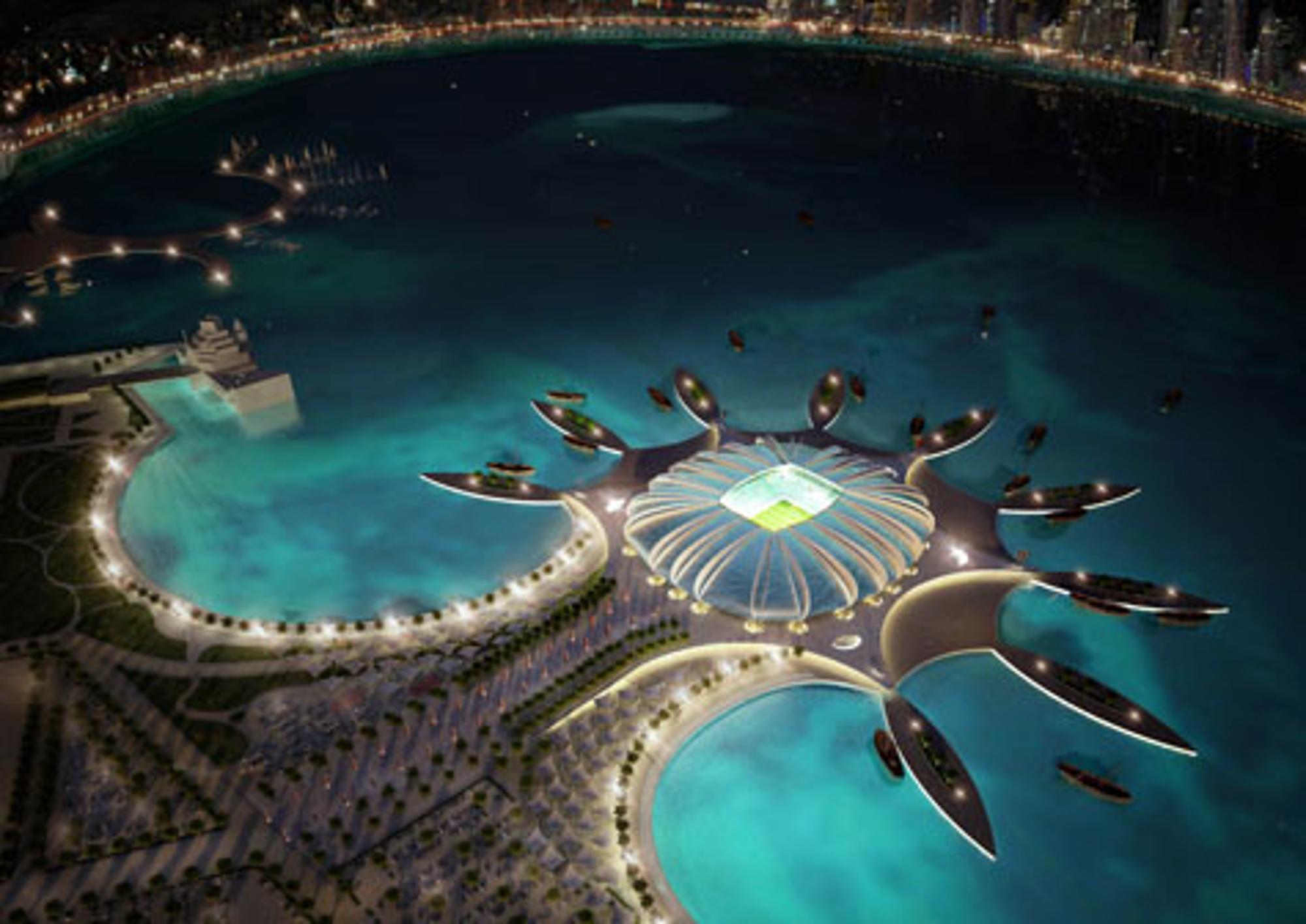 Katar Wm Infrastruktur Aus Portokasse Fussball