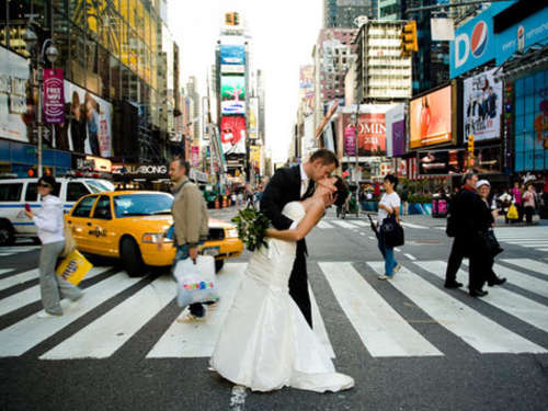 Zum Heiraten nach New York