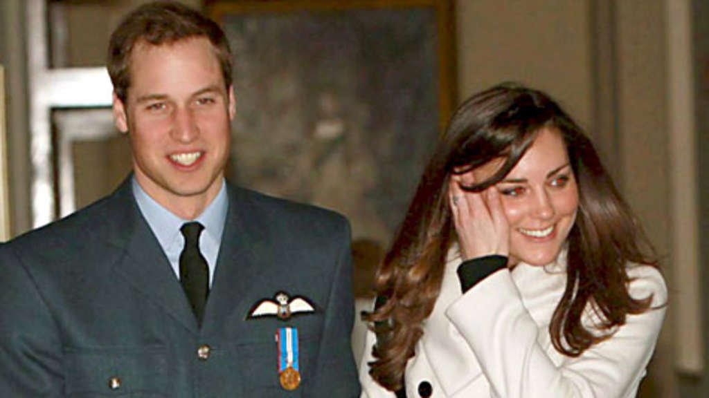 Prinz William Und Kate Erste Hochzeits Einladungen Per Fax Stars