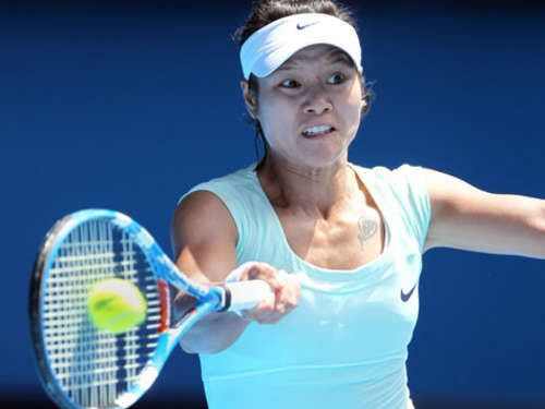 Li Na als erste Chinesin in Grand-Slam-Finale