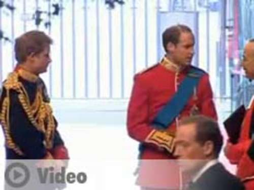 Video: William & Harry wie Popstars gefeiert