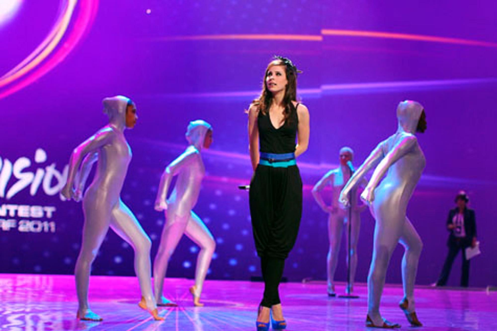 Eurovision Song Contest Aua Kameramann Verletzt Lena Meyer Landrut