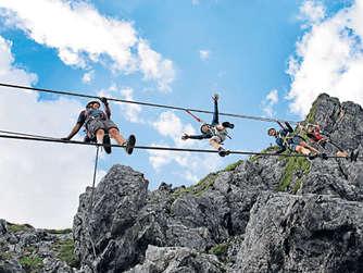 Klettersteigset Anlegen Bremsseil : Camp vortex gyro klettersteigset test und tipps