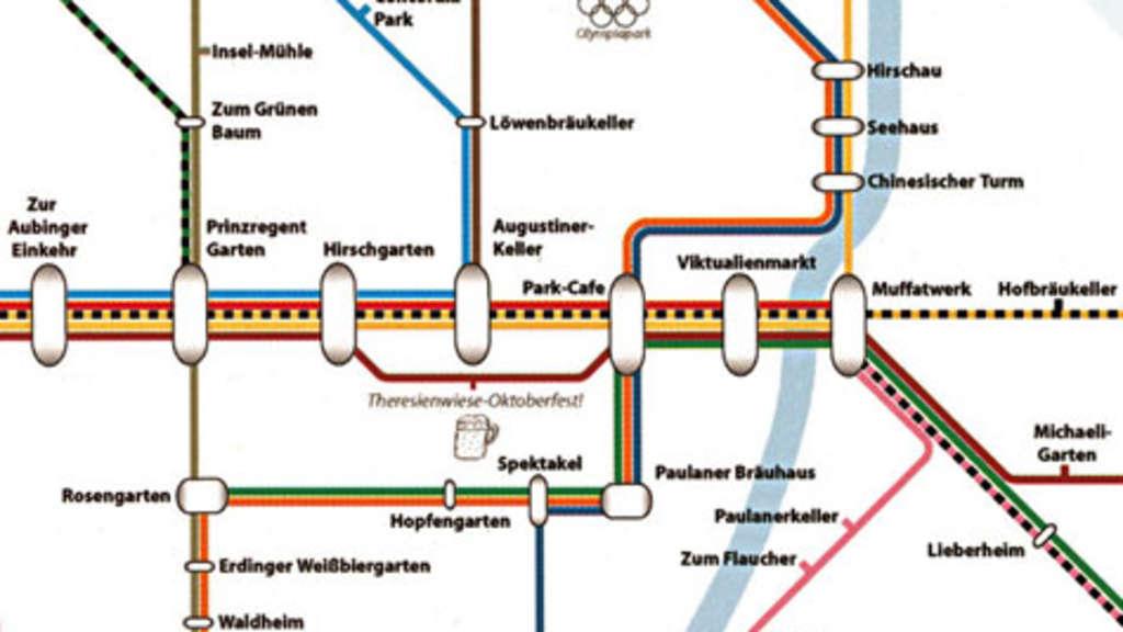 Biergarten Fahrplan Von München München