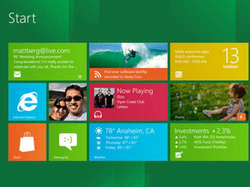 So wird Microsoft Windows 8