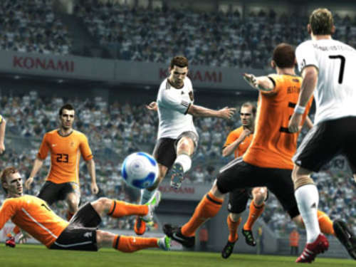 Screenshots aus PES 2012
