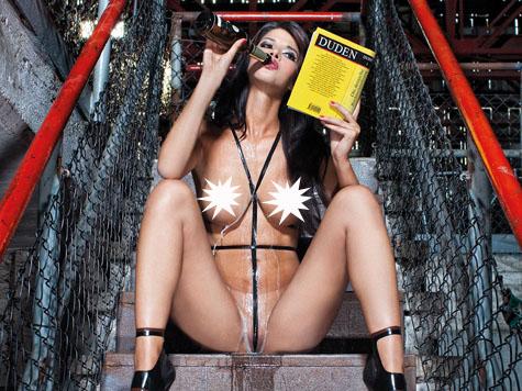Model Micaela Schäfer Ganz Nackt In Ihrem Neuen Kalender Lust