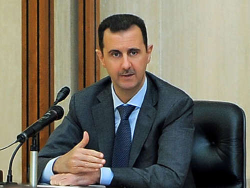 Assad warnt vor westlicher Intervention