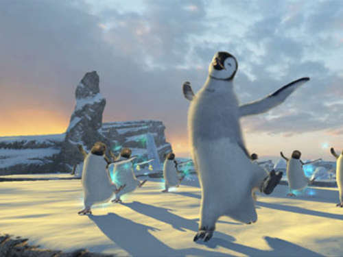Screenshots aus Happy Feet 2 - Das Videospiel