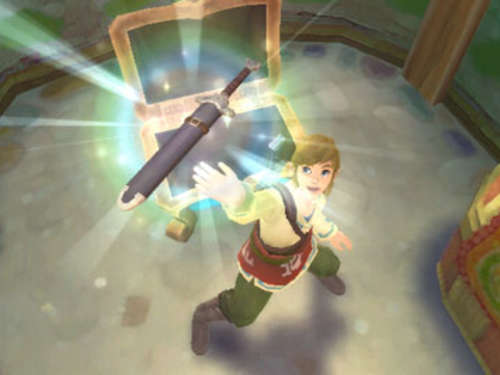Screenshots aus The Legend of Zelda: Skyward Sword