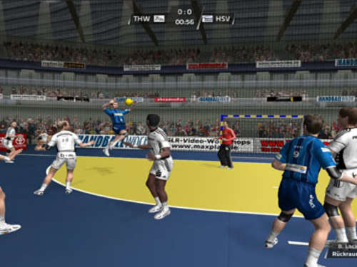 Screenshots aus Handball Action
