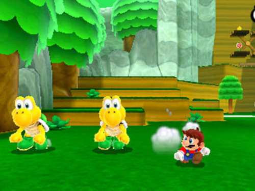 Screenshots aus Super Mario 3D Land