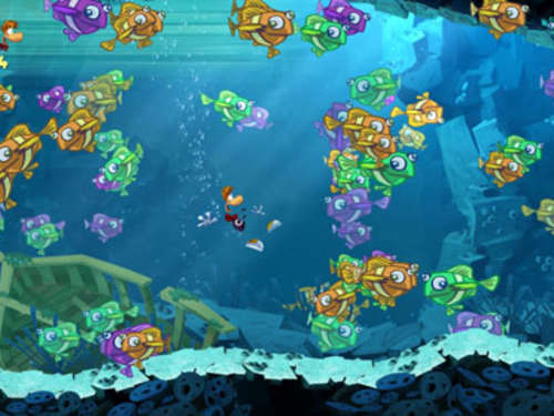 Screenshots aus Rayman Origins