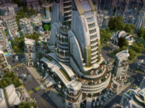 Screenshots aus Anno 2070