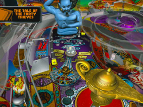 Screenshots aus Williams Pinball Classics