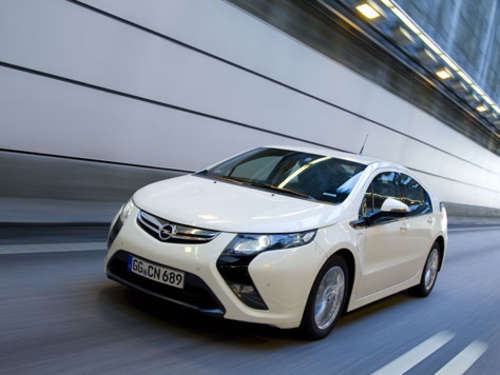 """Car of the Year 2012"": Opel Ampera nominiert"
