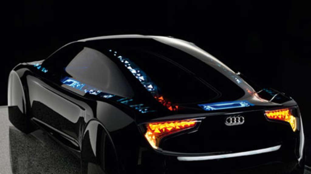 Audi Technik In Der Zukunft Oled Bringt Das Auto Zum Leuchten Auto