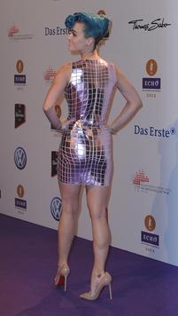 Echo Preisverleihung Heiße Küsse Auf Der Bühne Zwischen Ina Müller