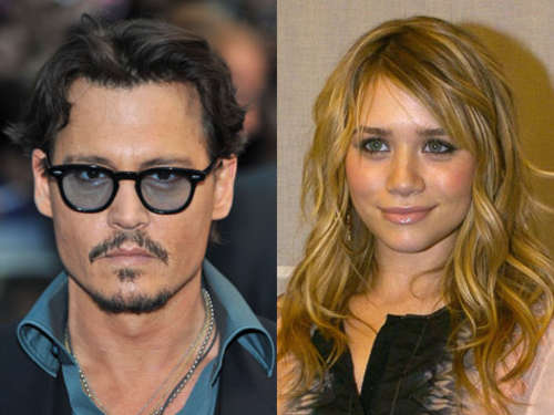 Johnny Depp: Affäre mit blutjunger Ashley Olsen?