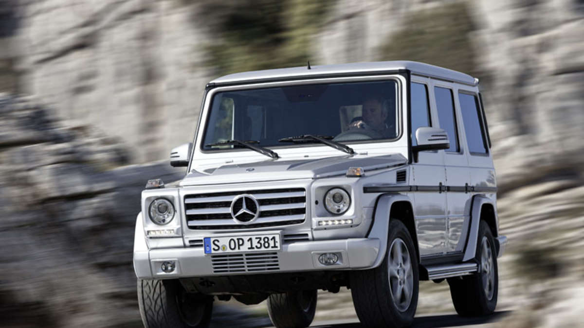 facelift mercedes benz g klasse jetzt auch in amg. Black Bedroom Furniture Sets. Home Design Ideas