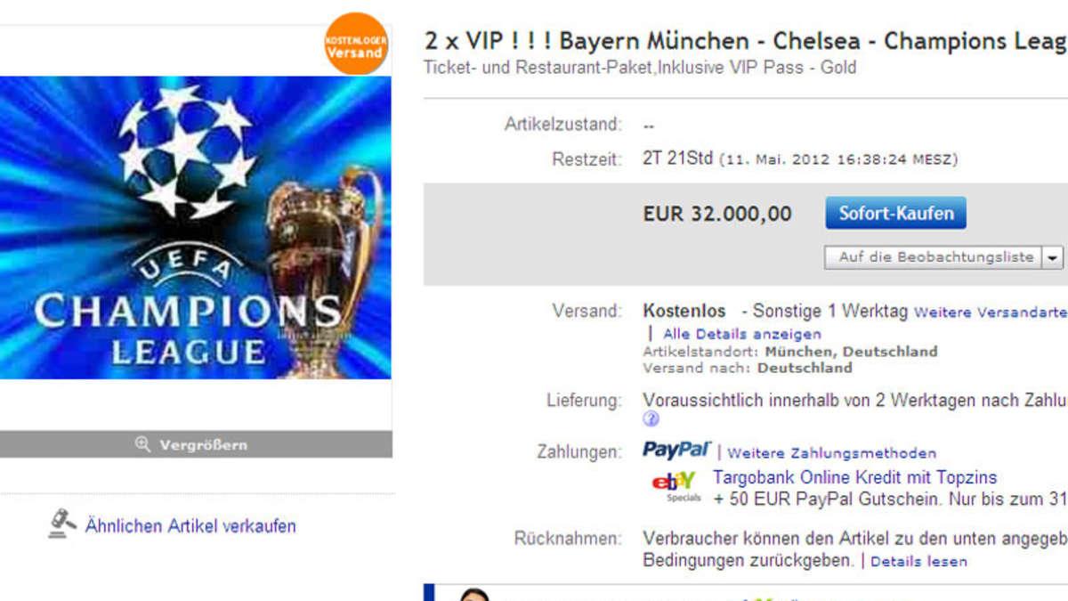 Karten FГјr Champions League Finale