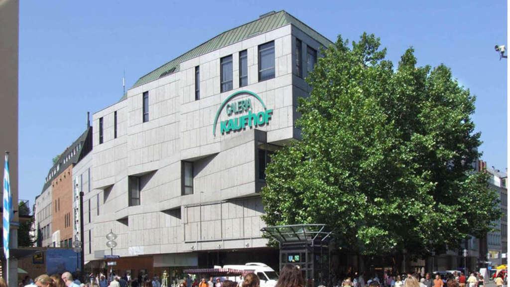 München Galerie Kaufhof Am Marienplatz Feiert 40 Geburtstag Stadt
