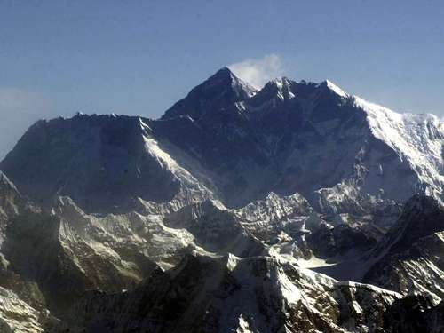 Massenansturm am Mount Everest